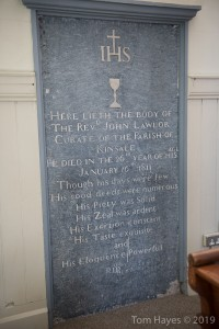 Monument to Fr Lawlor