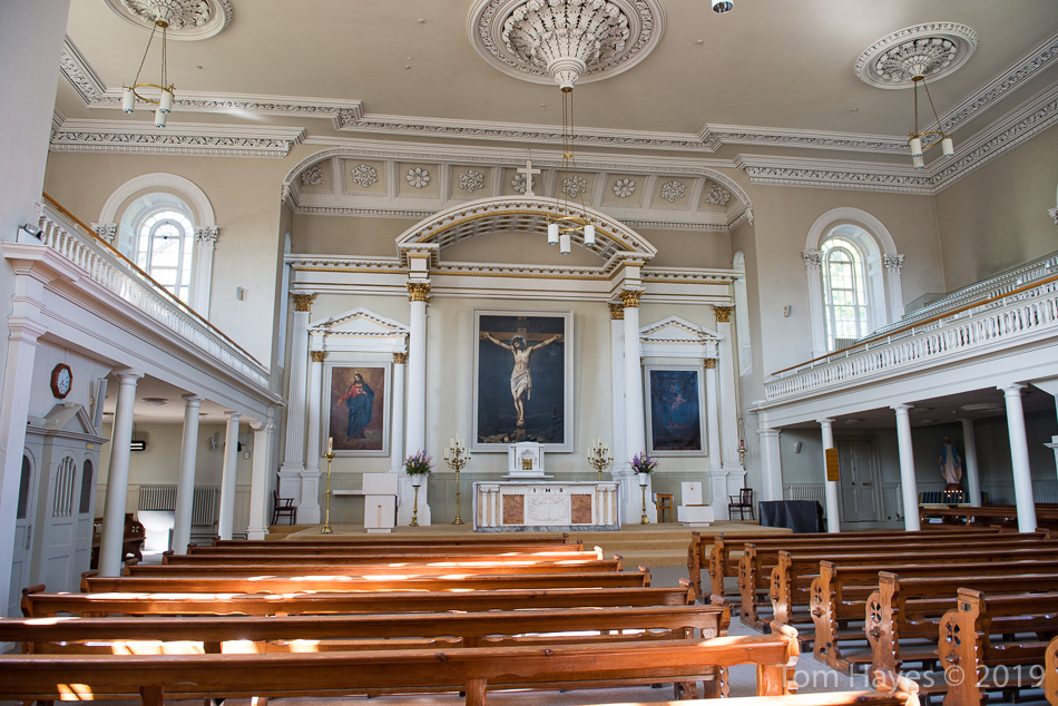 Interior of St. John the Baptist Church, Kinsale