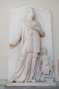 John Hogan's sculpture (1846) of Fr Justin Foley McNamara